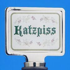 KATZPISS Wine bottle stopper Chrome Great fun NAUGHTY gift New