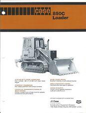 Equipment Brochure - Case - 850C - Loader - c1981 (E4130)