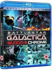 BATTLESTAR GALACTICA (2012-2013) BLOOD + CHROME - NEW TV MiniSeries BLU-RAY UK