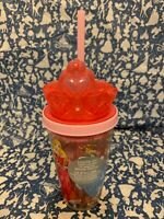 New Disney Princess Rapunzel Aurora Tiana Ariel Cup / Tumbler with Straw