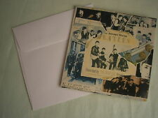 THE BEATLES card & envelope Anthology 1 officially licensed