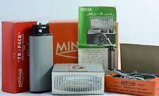 RARE VINTAGE MINICAM MI-SUN ELECTRONIC CAMERA FLASH COMPLETE