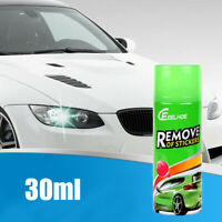 30ml Multi-Functional Car Stickers Removal Spray Adhesive Remove Cleaning Toolx1