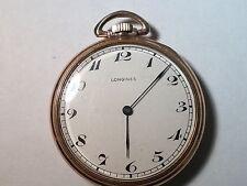 Longines pocket watch 10K Rolled Gold Plate, Agassiz Swiss Made, 17 Jewel, works