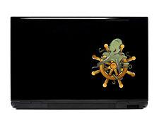 Octopus ship wheel sticker decal laptop automotive netbook window stickers