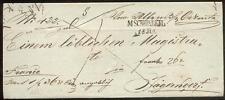 ÖSTERREICH 1843 VORPHILABRIEF von MSCHONBERG nach JÄGERNDORF(D0836