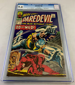 Daredevil 23 CGC 9.4 White pages, Gladiator Apperance