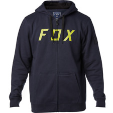 FOX Racing 2018 DISTRETTO 2 Zip in Pile Misura Da Uomo Grande Midnight GRATIS UK