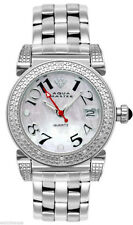 Aqua Master Women's W88J Mother of Pearl Dial Stainless Steel Diamond Watch
