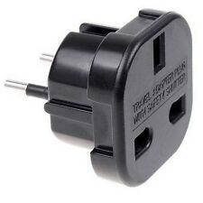Adaptador Red Enchufe UK Ingles Reino Unido a Europeo UE Universal Adapter Plug