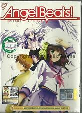 ANGEL BEATS + OVA - COMPLETE TV SERIES 1-13 EPS DVD BOX SET (ENGLISH DUB)