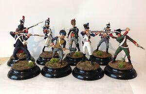 stadden Type Figures x8 Napoleonic 80mm metal