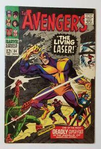 Avengers #34 FN- 5.5 1st App Living Laser! Stan Lee & Don Heck!
