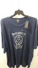 Polo Ralph Lauren T Shirt Nautical Marine Anchor Print Navy Blue NWT Size 3XLT