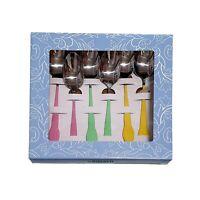 BIALETTI | Set 6 Cucchiaini Primavera in Acciaio con Verniciatura Soft Touch