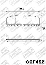 COF452 Filtro De Aceite CHAMPION Benelli250 Quattro/254/Sport 4 Cilindro 4T 78