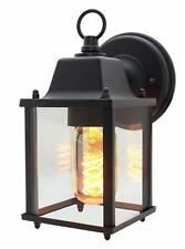 Traditional Glass Wall Lantern Outdoor Outside Garden UP Down Wall Light Lamp
