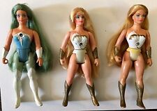 She-Ra (x2), Frosta Princess of Power MOTU Vintage Figure Mattel 1984 He-Man
