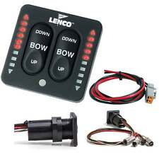 Lenco LED Indicator Integrated Tactile Switch Kit Single Actuator 15170-001