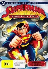 SUPERMAN Animated: A Little Piece of Home : NEW DVD