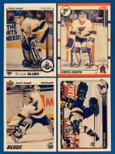 RC (4) Curtis Joseph Rookie Card Lot 1990-1991 Upper Deck Score