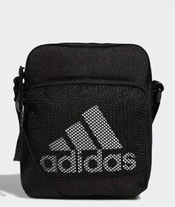 Men Adidas Originals Amplifier Festival CrossBody Bag Black/White