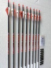 """Bloodsport Impact Hunter 350 Arrows w/Vanes w/Insert - 9  Arrows 31"""""""