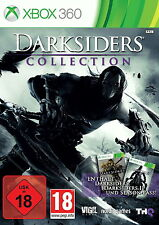 Darksiders -- Collection Xbox 360! Darksiders 1,2  +DLC! Multilingual, NEU, NEW!