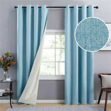Blackout Curtains for Living Room Bedroom Modern Full Blackout Shading Fabric