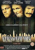Gangs Of New York (DVD, 2003, 2-Disc Set) New Sealed Free Post