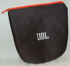 Official JBL Flip/Charge/Pulse Zip BAG Soft Side Cloth Portable BLACK Sleeve -A-
