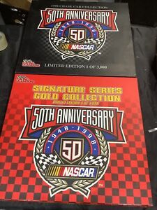 Signature Series Gold Collection 50th Annv NASCAR 12 Diecast 1:64 1998 Free