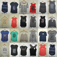 Lucky Brand,Women's TANK & TOP & BLOUSES & T-SHIRTS,Size XS*S*M*L*XL