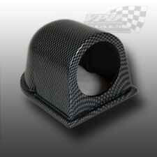 "DASH MOUNT 2"" 52MM GAUGE HOLDER POD CARBON FIBRE"