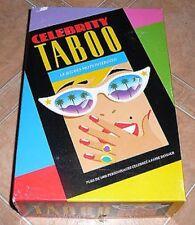JEU DE SOCIETE : TABOO CELEBRITY ! LE JEU DES MOTS INTERDITS SPECIAL STARS