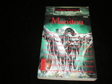 Graham Masterton : Manitou (pocket édition 1995/1999)