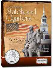 Cornerstone George Washington Statehood Quarter Album 1999-2009 P & D