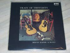 Bernd KAISER & MANO Maniak - Train of Thoughts / Rare Krautfolk & Blues LP, AVC