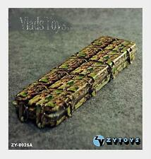 ZY Toys 1:6  Camouflage Sniper & Army Weapon Case Accessories for Action Figures