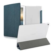 Kwmobile Smart Cover para asus zenpad 10 azul oscuro funda protectora cuero artificial Case