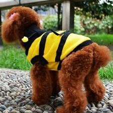 Dog Clothes Fleece Bumble Bee Lovely Cat Pet Harness Costume Apparel Hoodie