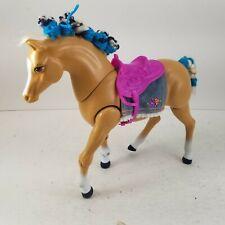 Vintage 1993 Mattel Barbie High Stepper Palomino Horse Tested & Working