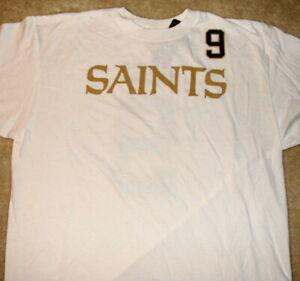 Drew Brees new white NEW ORLEANS SAINTS REEBOK NFL jersey/shirt