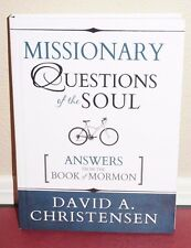 Missionary Questions of the Soul Answers from the Book of Mormon by Christensen