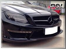 GodHand Style Carbon Fiber Front Bumper Lip For 2011+ BENZ W218 CLS63 AMG