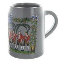 Vintage JW Augustiner Brau German Beer Stein Mug, 0.5L