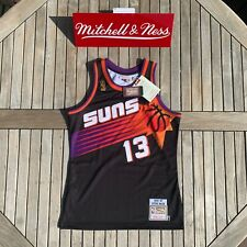 Mitchell & Ness Steve Nash NBA Authentic Jersey Phoenix Suns 1996 Black