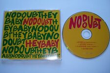 HEY BABY + enhanced VIDEO  __  NO DOUBT __  4 Track MCD 2001