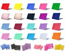 Laptop Rubberized Cover Case Hard Shell for Macbook...