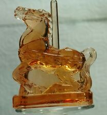Boyd Glass Taffy the Carousel Horse Honeycomb